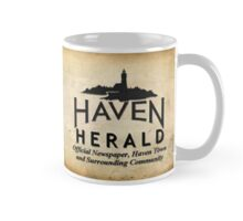 Haven Herald Newsprint Logo Mug