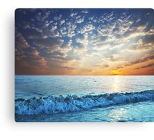 Crystal Ocean Canvas Print
