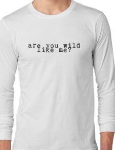 Wolf Alice - Bros Long Sleeve T-Shirt