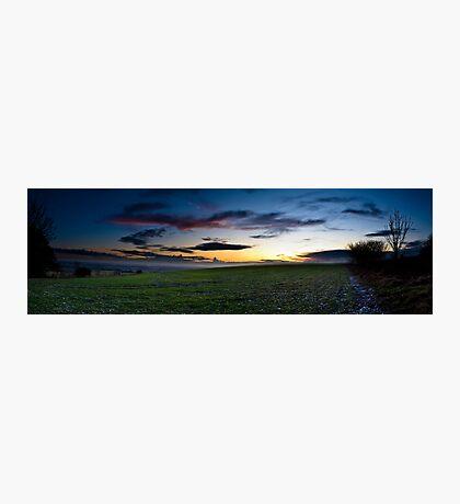 Sussex Sunset Photographic Print