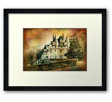 Spanish Mansion - Vintage Framed Print