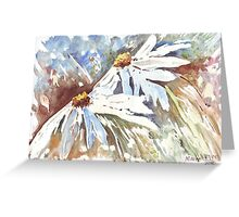 Daisy love in Spring Greeting Card