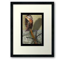 lwalwa spirit Framed Print