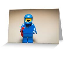 Benny from the Lego Movie Greeting Card