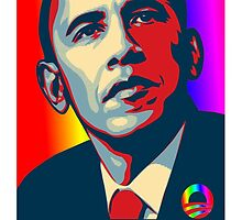 Obama Hope Gay Marriage by Jason Levin