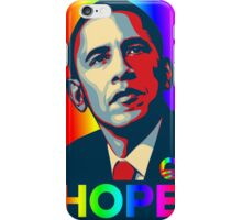Obama Hope Gay Marriage iPhone Case/Skin
