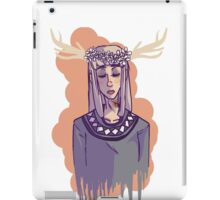 Answer Me Daisy Do iPad Case/Skin