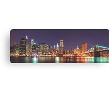 Dawn in the Big Apple Canvas Print