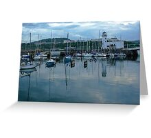 Boats On Stilts Greeting Card