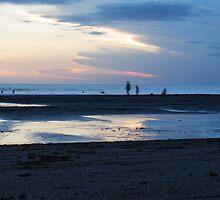 Sunset beach by gairsy