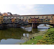 Ponte Vecchio, Firenze (Florence) Italy Photographic Print