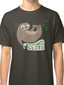 Caffeinated Sloth Classic T-Shirt