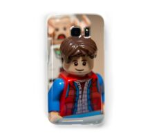 Marty and Doc go for a ride Samsung Galaxy Case/Skin