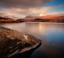 Black Mount from Loch Ba by David Mould