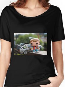 Marty Mcfly Delorean Women's Relaxed Fit T-Shirt