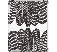 Tribal Feathers  Black iPad Case/Skin