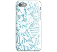 Abstraction Lines Watercolour iPhone Case/Skin