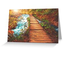 Sojourn Through Serenity Greeting Card