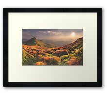 Ten Thousand Miles From Anywhere Framed Print