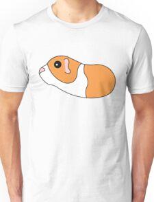Orange and White Guinea Pig (3 of 4) Unisex T-Shirt