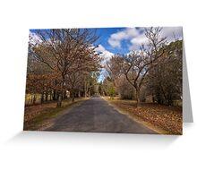 Hill End NSW Australia Greeting Card