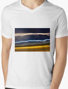 Speed of light Mens V-Neck T-Shirt