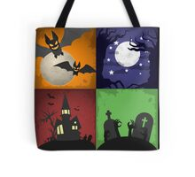 Halloween - 4 Boxes Tote Bag