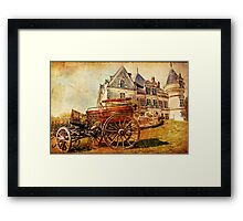 Picturesque Afternoon - Vintage Framed Print