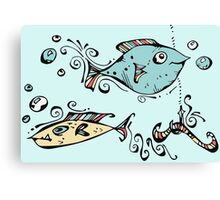 Fish For Gary Canvas Print