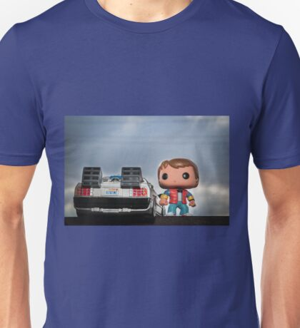 Outatime with Marty McFly Unisex T-Shirt