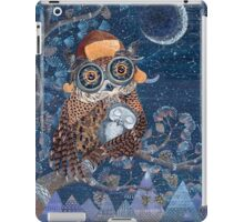 Owl mother iPad Case/Skin