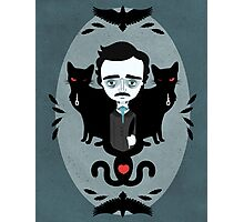 Edgar Allan Poe Photographic Print