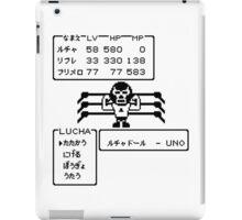 NES LUCHADOR iPad Case/Skin