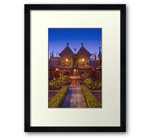 French Hospitality Framed Print