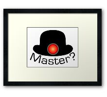 Bowler Hat Army Framed Print