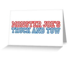 Pulp Fiction - Monster Joe's Truck and Tow Greeting Card