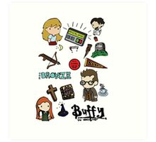 buffy etc. Art Print