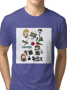 buffy etc. Tri-blend T-Shirt
