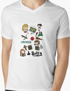 buffy etc. Mens V-Neck T-Shirt