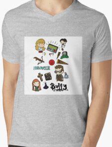 buffy etc. Mens V-Neck T-Shirt