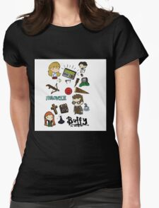 buffy etc. Womens Fitted T-Shirt