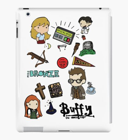 buffy etc. iPad Case/Skin