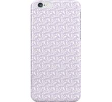 Crazy Purple Flowers iPhone Case/Skin