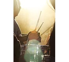 Drums at sunset Photographic Print