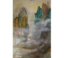 China Mountains - No.1 Photographic Print