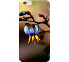 Watercolour In Blue  iPhone Case/Skin