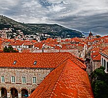 The Roofs of Dubrovnik by vadim19