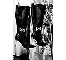 These Boots ... Photographic Print
