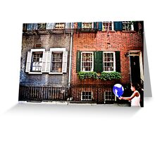 Greenwich Girl  Greeting Card