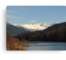 North Cascades and the Skagit River Canvas Print